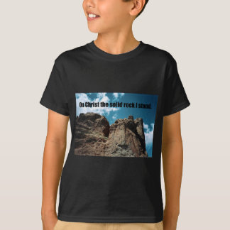 On Christ the Solid Rock I Stand. T-Shirt