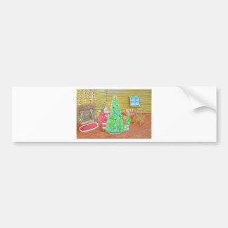 on christmas eve bumper sticker