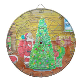 on christmas eve dartboard