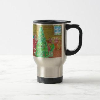 on christmas eve travel mug
