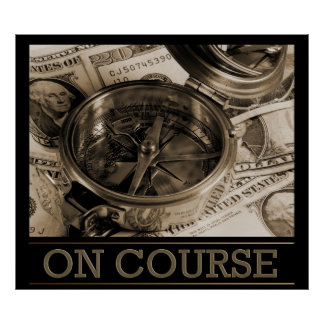 On Course Poster