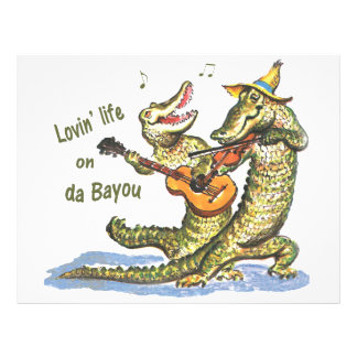 On da Bayou Customized Letterhead