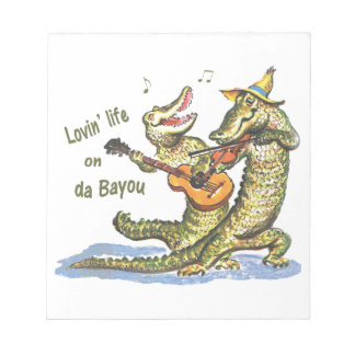 On da Bayou Notepads