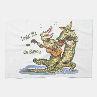 On da Bayou Towels