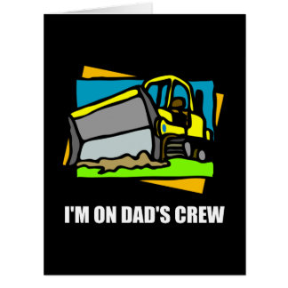 On Dads Crew Card