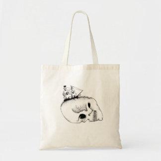 On Deadly Tides Tote Bag