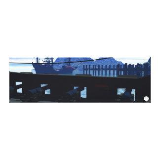 On Deck Canvas Print