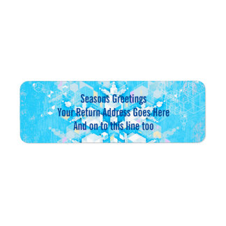On Earth Peace Return Address Label