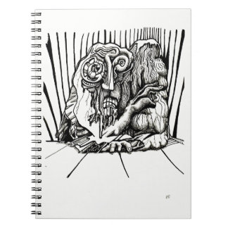 On Edge, by Brian Benson Spiral Notebook
