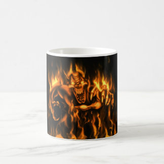 On fire cup