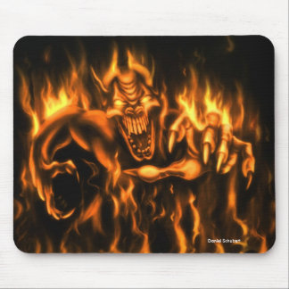 On Fire: Mouse PAD