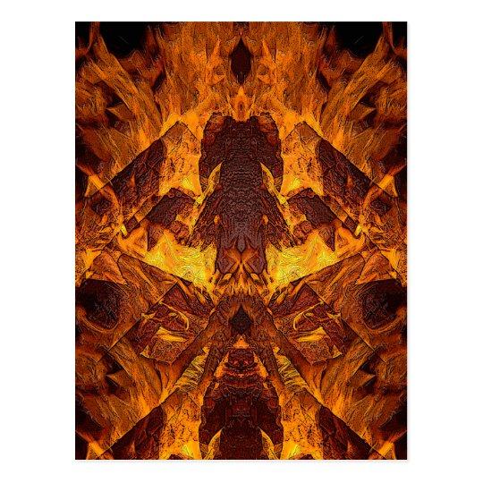 On Fire! Postcard
