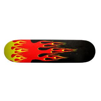 On Fire Skateboard