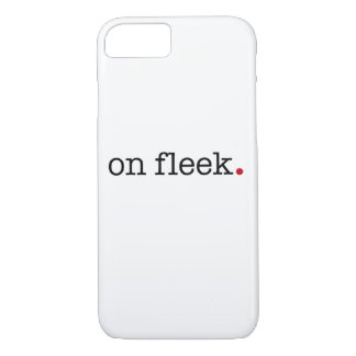on fleek Case-Mate iPhone case