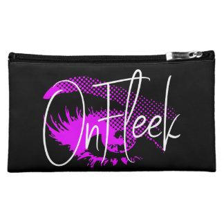 On Fleek Pretty Eye and Eyebrow - Magenta Hot Pink Makeup Bag