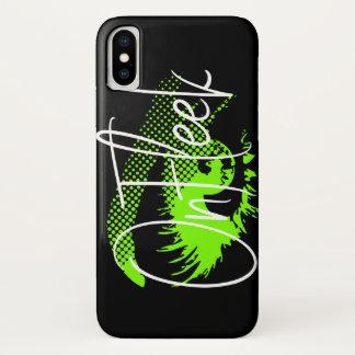 On Fleek Pretty Eye and Eyebrow - Neon Green Case-Mate iPhone Case