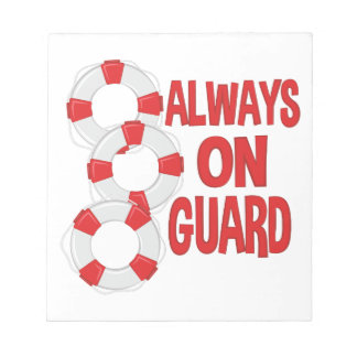 On Guard Notepad