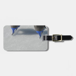 on Ice Luggage Tag
