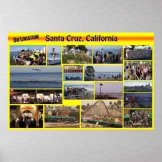 On Location-Santa Cuz, California Poster