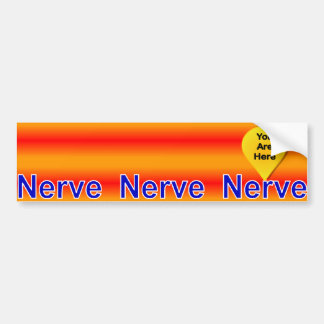On My Last Nerve Bumper Sticker