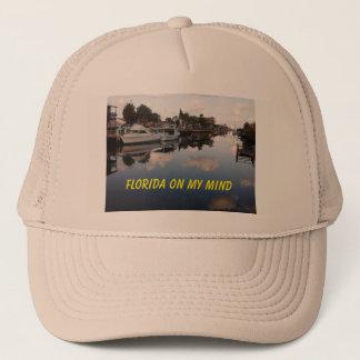 on my mind trucker hat
