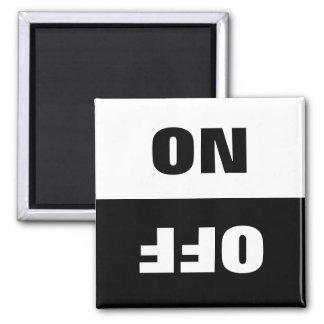 On Off Dishwasher in use sign fridge magnets