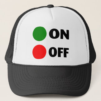 On Off Trucker Hat