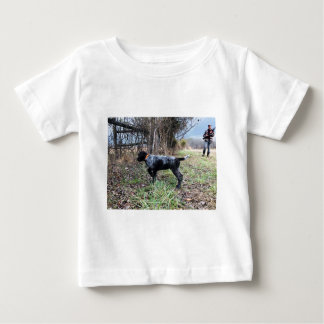 On point puppy baby T-Shirt