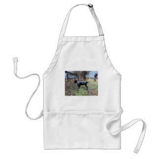 On point puppy standard apron