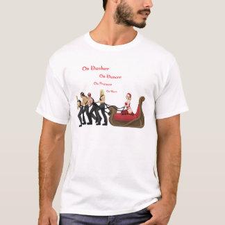 On Prancer, On Vixen T-Shirt
