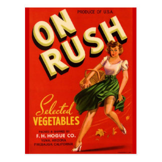 On Rush Postcard