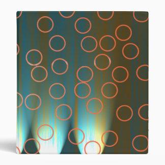 On Stage Lighting Orange Circles Binder