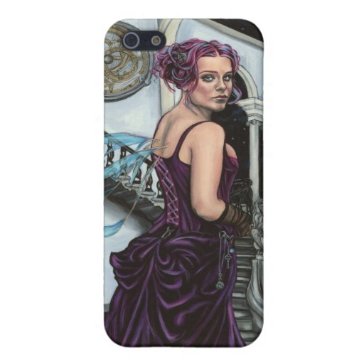 on stolen time gothic faery i phone 3 case iPhone 5 cover