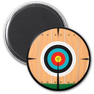On Target 2 Inch Round Magnet
