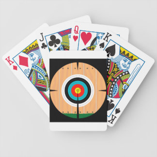 On Target Bicycle Playing Cards