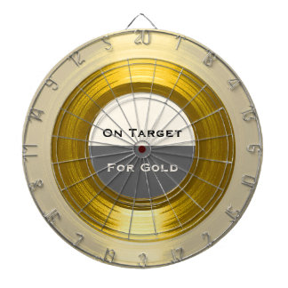 On Target For Gold - A Corporate Record Dartboard