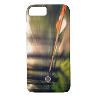 On Target, with Name Option iPhone 7 Case