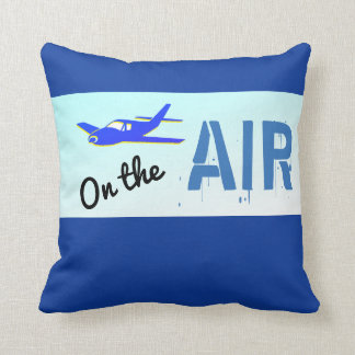 On the air airplane pillow