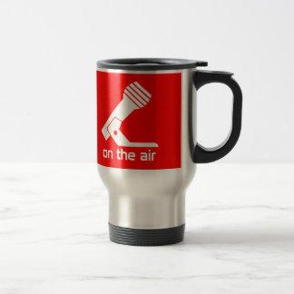On The Air Travel Mug (Red)