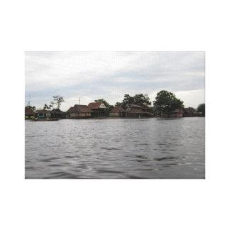 On the Amazon Canvas Print