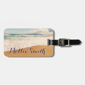 On The Beach Bag Tag