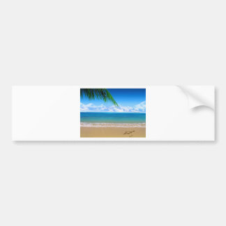 on the beach bumper stickers