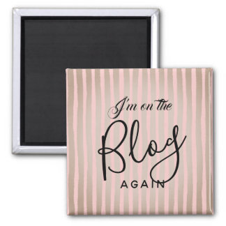 On The Blog Again: Pink and Coffee Magnet