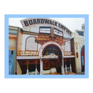 On the Boardwalk in Atlantic City Postcard
