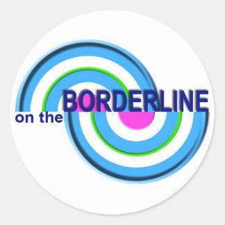 On The Borderline sticker