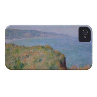 On the Cliff at Pourville - Claude Monet iPhone 4 Case