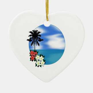 ON THE DAILY CERAMIC HEART ORNAMENT