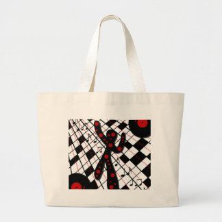 On the dance floor large tote bag