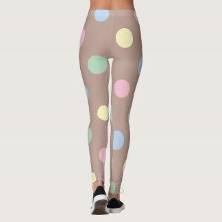 On the Dot Pastel Leggings