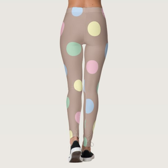 On the Dot Pastel Leggings